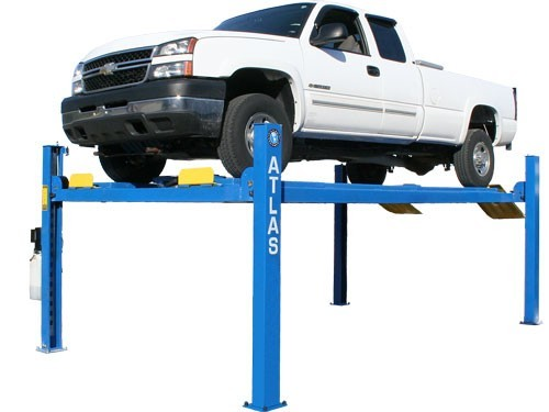 ATLAS 412A 12,000 LBS. CAPACITY COMMERCIAL GRADE 4 POST ALIGNMENT LIFT