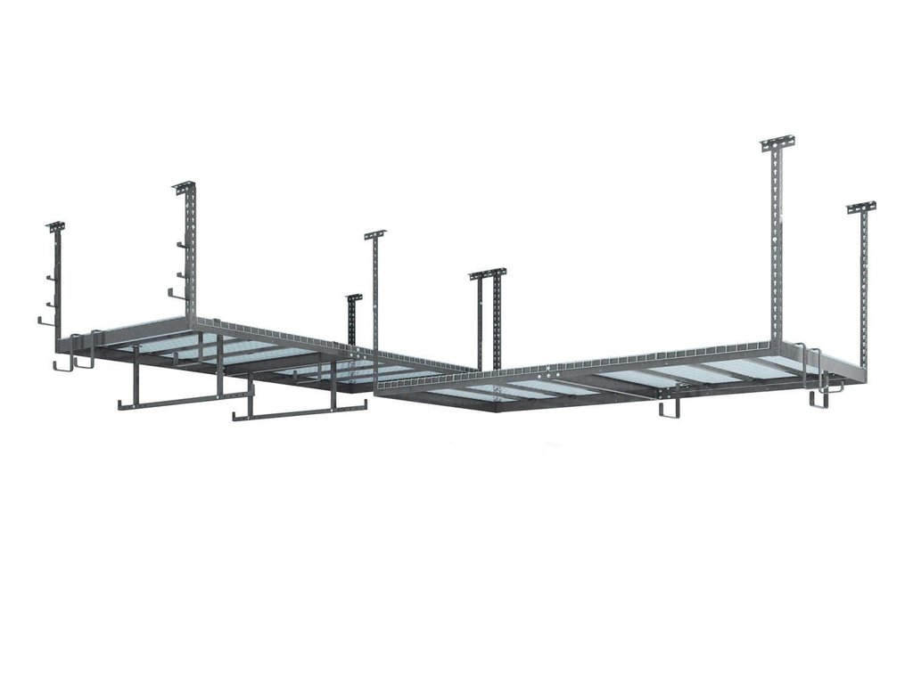 VersaRac Set with 2 Overhead Rack and 16 Piece Accessory Kit